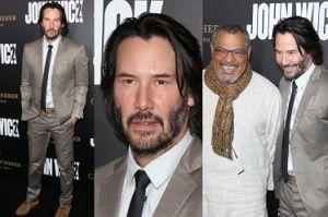 52-letni Keanu Reeves na premierze filmu (ZDJĘCIA)