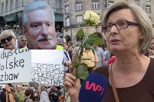 """Kontrmanifestacja smoleńska. Dlaczego Polacy protestują? """"My nie mamy rządu, mamy SZAJKĘ RZĄDZĄCYCH!"""""""