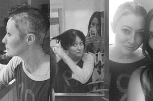 Shannen Doherty ogoliła głowę przed chemioterapią (ZDJĘCIA)