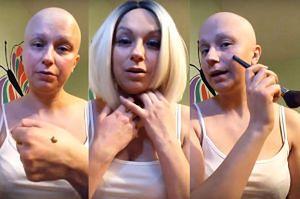 """Vlogerka chora na raka uczy, jak się malować po chemii.  """"Nie wyzywam raka od gnojów, to kawałek mnie"""""""