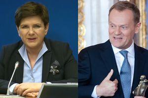 """Szydło odpowiada Tuskowi: """"Nie musi się o mnie martwić ani mi współczuć!"""""""