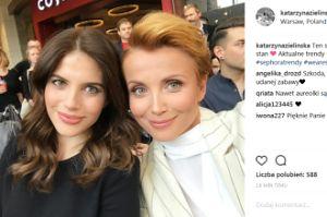 Ciężarne Zielińska i Rosati pozują razem do zdjęcia. SEKSOWNE? (FOTO)