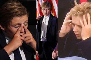 """Internauci szydzą z 10-letniego Barrona Trumpa: """"Będzie maltretował koty w Białym Domu"""""""