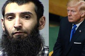 """Trump chce śmierci terrorysty z Nowego Jorku. """"POWINIEN DOSTAĆ KARĘ ŚMIERCI!"""