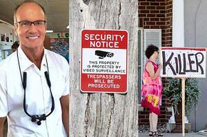 Dentysta-sadysta BOI SIĘ O ŻYCIE... Ma uzbrojonych strażników!