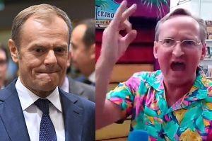 """Cejrowski grozi Tuskowi: """"MUSZĘ MU DAĆ W PYSK. Obraził moją mamusię!"""""""
