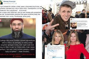 """Polscy celebryci o uchodźcach: """"MAM W DUPIE WASZ DŻIHAD"""" i """"Żyjemy pośród rasistów"""""""