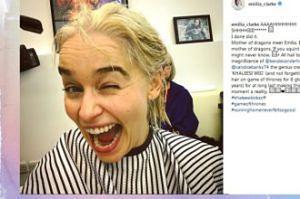 Emilia Clarke przefarbowała włosy