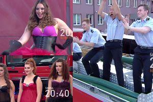 Tak Polsat walczy o widzów: modelki plus size paradują w bieliźnie przed strażakami i… Maślakiem