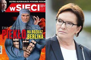 """Ewa Kopacz jako... terrorystka ISIS na okładce """"wSieci""""!"""