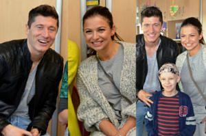 Lewandowscy odwiedzili chore dzieci w Centrum Zdrowia Dziecka! (ZDJĘCIA)