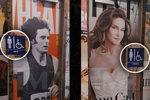 Męska czy damska? Tu toalety wskazują Bruce i Caitlyn Jenner