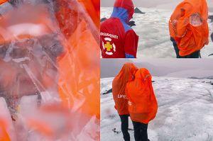 """TYLKO U NAS! Majdany na islandzkim lodowcu: """"Czy mam tutaj umrzeć?"""""""