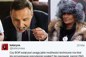Prawicowa blogerka Kataryna sugeruje, że... KOD mógł otruć prezydenta!