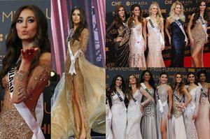 Kandydatki na Miss Universe na czerwonym dywanie (ZDJĘCIA)