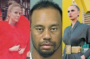 """33-letnia dziewczyna Tigera Woodsa """"dostała furii"""" na wieść o jego aresztowaniu: """"Wpadła w histerię na środku sklepu i zalała się łzami"""""""