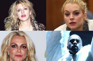 Tym gwiazdom show biznes nie wyszedł na dobre: Britney Spears, Lindsay Lohan i Kanye West!