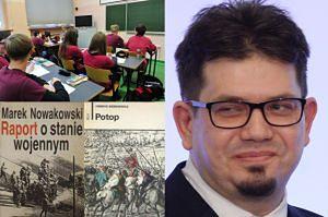 """Wiersze """"poety smoleńskiego"""" zostały obowiązkową pozycją na liście lektur szkolnych! Usunięto za to Bułhakowa i Miłosza..."""
