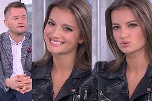 """Kuźniar podrywa polską aktorkę z Bollywood: """"Spróbuj zagrać słodką dziewczynę..."""""""