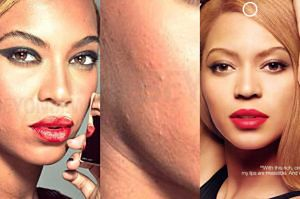 BEZ RETUSZU: Tak naprawdę wygląda Beyonce...