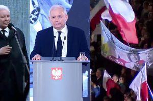 """Jarosław Kaczyński: """"Spotyka nas straszliwy atak nienawiści, bo prawda o katastrofie jest coraz bliżej"""""""