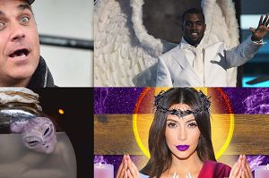 W co wierzą gwiazdy? West twierdzi, że jest Bogiem, Williams szuka UFO… Są też fani reinkarnacji!