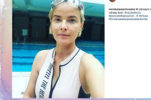 Monika Zamachowska na basenie