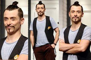 Kacper Kuszewski w modnej fryzurze... (ZDJĘCIA)