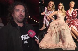 """Emil Haidar na pokazie mody: """"Jestem wielkim fanem Bizuu. Przyjaźnię się z dziewczynami!"""""""