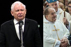 """Kaczyński dziękuje ojcu Rydzykowi… za walkę o prawdę smoleńską. """"Bez niego i Radia Maryja to by się nie udało!"""""""
