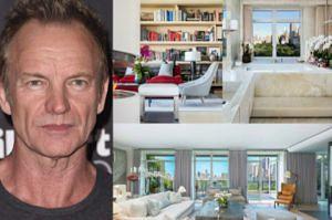 Sting sprzedaje apartament w Nowym Jorku. Chce za niego... 50 MILIONÓW dolarów! (ZDJĘCIA)