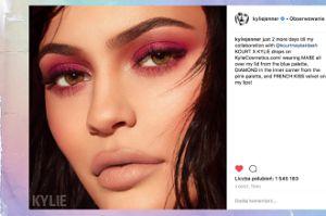 Wielkie usta Kylie Jenner straszą w nowej sesji