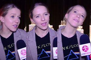 """Zawstydzona Mercedes próbuje udzielić wywiadu: """"Nie lubię rozmawiać o pieniądzach przed kamerą!"""""""