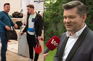 """Stylowy Zenek Martyniuk: """"Często zachodzę do sklepu Versace'go"""""""
