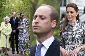 Królowa Elżbieta i Kate Middleton podziwiają wystawę kwiatów (ZDJĘCIA)