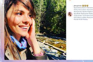 Potargana Paulina Krupińska rozsyła uśmiechy w Tatrach