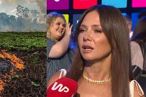 """Kinga Rusin o płonącej Amazonii: """"Czy za rok będziemy mieli czym oddychać?"""""""