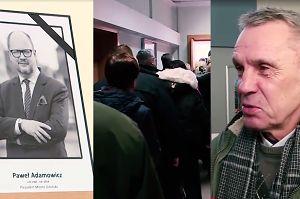 """Tłum chętnych do księgi kondolencyjnej Pawła Adamowicza. """"Jego serce zawsze będzie biło w Gdańsku"""""""