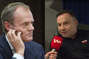"""Duda grzmi: """"Tusk NIE MA SZACUNKU do Polski"""""""