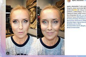 Agata Młynarska pokazała się bez makijażu