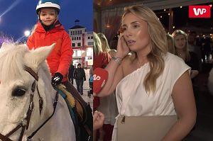 """Ferenstein-Kraśko komplementuje córkę Wojciechowskiej: """"Jeździectwo jest bardzo rozwijające"""""""