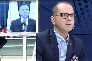 """Michał Szczerba komentuje referendum konstytucyjne: """"PiS bawi się z prezydentem"""""""