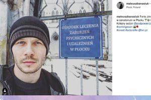 Mateusz Banasiuk kręci w Płocku