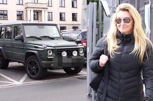 Wojciechowska zostawia Mercedesa na kopercie