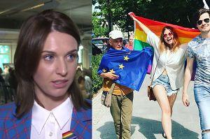 """Kamińska o środowisku LGBT: """"Nie ma równości praw w Polsce"""""""
