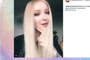 Red Lipstick Monster zmieniła kolor włosów?
