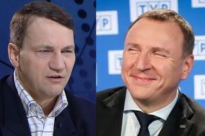"""Sikorski o TVP: """"Za nasze pieniądze uprawia się partyjną propagandę"""""""