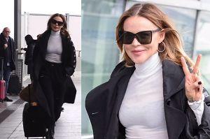 Sablewska wylatuje na spotkanie z Victorią Beckham