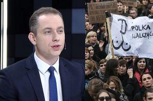 """Tomczyk wspiera Czarny Protest: """"Nie mam niż przeciwko, żeby Polki obaliły ten rząd"""""""