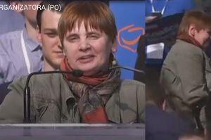 """Janina Ochojska na scenie Rady Krajowej PO: """"Takie miejsca będą dostępne dla osób niepełnosprawnych"""""""